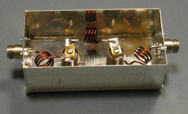 70 MHz Lowpass Filter