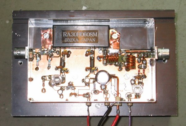 220 Mhz Preamplifier